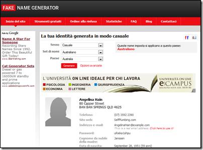 Fake name generator download
